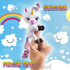 Finger Unicorn Gigi ling Interactive Baby Children Kids  Dolls Toy Xmas Gift Hot