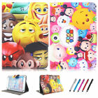 """Kids Cartoon Universal Leather Buckle Cover Stand New For Various 7-7.9"""" Tablets"""