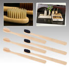 10pcs Oral Care Durable Toothbrush Bamboo Environmental Soft Eco Friendly