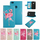 Flamingo Pattern PU Leather Wallet Flip Case Cover for Huawei P8 P10 Lite 2017