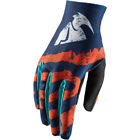 Thor Void Rampant Youth MX Offroad Gloves Orange/Teal