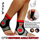 New Pain Relief Support Sports Stabilizer Ankle Brace Compression Foot Wrap USA $3.29 USD on eBay