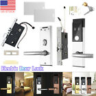 Home Security Lock Electronic Digital Entry Door Lock RFID Cards Mechanial Keys