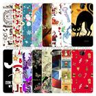 For HTC Desire 310 D310W Christmas Plastic Case Cover 2018 New Year Tower Cat