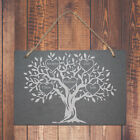 Personalised Engraved Family Tree Slate Plaque Unique Gift Idea For The Home