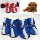 Newest Pet Shoes Hook&Loop Design Boots Doggy Puppy Outdoor Skidproof Booties