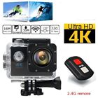 4K Ultra HD DV 12MP 1080p 60fps Sports Action Camera + Full Accessory Bundle NEW