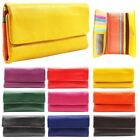 New Genuine Leather Multicolour Inside Ladies Wallet Purse