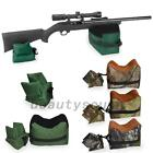 Shooting Range Sand Bag Set Rifle Gun Bench Rest Stand Front Rear Bag Hunting