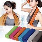 Ice Cold Enduring Running Work Out Gym Chilly Pad Instant Cooling Towel SportsOZ
