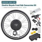 48V 1000W Front Rear Wheel Electric Bicycle Conversion Kit E-Bike Cycling Motor