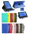 Universal 360° Rotating Wallet Case Cover for Tiptiper 7 Inch Tablet PC