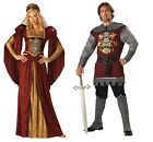 Couples Costume Noble Knight & Renaissance Maiden Adult Medieval Incharacter