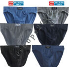 MENS BRIEFS SLIPS CLASSIC UNDERWEAR PANTS HIPSTER PACK OF 3 6 9 12 Size S-2XL