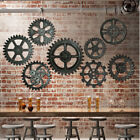Vintage Retro Industrial Gear Wall Antique Art Home Bar Cafe Hotel Decor 10Types