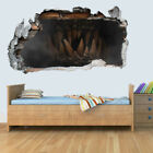 Dinosaur Jurassic World 3D Kids Wall Art Sticker Breakout Smashed Boys Girls