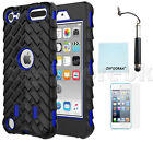 Heavy Duty Shockproof Armour Case Cover For Apple iPod Touch 5th 6th Generation <br/> *3 FREE GIFTS* FITS both iPod Touch 5G 6G 5th 6th Gen