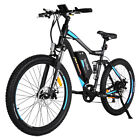 "Addmotor Electric Mountain Bicycle Bike 500W 27.5"" Suspension Absorber E-Bike H1"