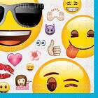Emoji Emoticon Boys Girls Birthday Party Tableware Supplies & Decorations