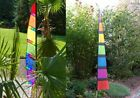 HQ Banner Flag Garden Wind Chime Colourful 170 cm lawn weatherproof