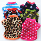 Small Pet Dog Clothes Fashion Costume Teddy Puppy Cat Fall Winter Fleece Sweater
