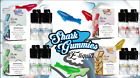 4 X 10ML (40ML) SHARK GUMMIES E LIQUID VAPE ECIG JUICE 3MG 6MG 70VG/30PG UK TPD