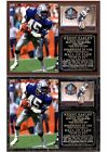 Kenny Easley 2017 Pro Football Hall of Fame Photo Card Plaque $28.95 USD on eBay