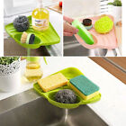 US Kitchen Sink Caddy Sponge Holder Scratcher Cleaning Brush Holder Organizer
