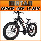 Addmotor MOTAN Electric Bicycle Bike Bafang 1000W Mid Drive Motor E-bike M-5800