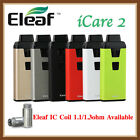 Authentic Eleaf iCare 2 650mah All In One Starter Kit w/ 2ml Tank 650mah Battery