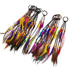 1 Pc Dreadlock Beads Feather Hair Extensions Bohemian Pendant Fashion Decoration