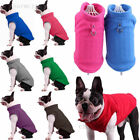 Pets Dog Puppy Cat Warm Clothing Coat Apparel Soft Polar Fleece Apparel Costume