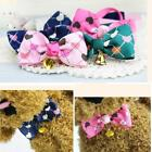 Cute Cats Dog Puppy Pet Collar Necklace Bownot Adjustable Bowtie with EN24H 01