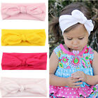 New Baby Toddler Girl Kids Bunny Rabbit Bow Knot Turban Head Hair Band Head Wrap