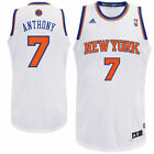 NWT 50$ Adidas BOYS New York Knicks Carmelo Anthony White Swingman Home Jersey on eBay
