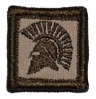 Spartan Head 1x1 Military/Morale/Police Patch Hook Backing