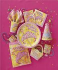 PRETTY PRINCESS Party Range (Birthday, Decorations & Tableware) (1C)