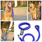 Nylon Braided Rope Traction Safe Collar + Rope Harness Pet Dog Strong Lead Leash