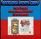 2017 Topps Allen & Ginter Baseball SPs & Parallels (Pick Your Cards)