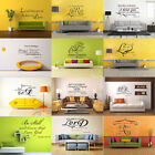 Bible Verse Wall Stickers Decal Quote Inspiration Art  Vinyl