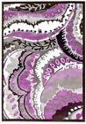 RUGS AREA RUGS CARPET 8x10 AREA RUG FLOOR MODERN LARGE PURPLE ABSTRACT RUGS NEW~