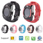 Sport V8 Bluetooth 3.0 Wrist Smart Watch Fitness Pedometer SIM GSM for Android