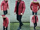 New Men's Parka Winter Fashion Young Fashion Style Fashion Fur Coat Jacket