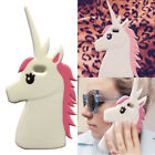 1PC 3D Unicorn Cell Case Soft Shockproof Silicone Cover Protector for iPhone Hot