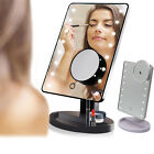 10X 7 Inch Makeup Mirror TouchScreen 10XMagnification Tabletop Vanity Mirror