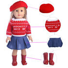 """Doll Clothes Pajames Shoes Bag for 18"""" American Girl Our Generation My Life Doll"""
