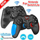 2x 1x Wireless Pro Controller Gamepad Joypad Remote for Nintendo Switch/Lite