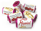 V11_Personalised Mini Love Heart Sweets for Weddings favours, Gold Rings
