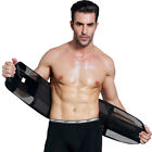 Men Women Neoprene Waist Belt Sweat Trainer Slimming Trimmer Belt Body Shaper UK