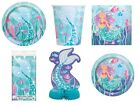 MERMAID Bithday Party Range - Tableware Balloons & Decorations {Unique} (1C)